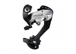 ΝΤΕΡΑΓΙΕΡ ΟΠΙΣΘΙΟ SHIMANO ALTUS RD-M370-SGS-S, 9 SPEED, DIRECT ATTACHMENT, SILVER, IND.PACK