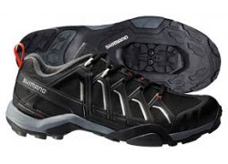 ΠΑΠΟΥΤΣΙΑ ΠΟΔΗΛ. SHIMANO MTB TOURING SH-MT34-L, BLACK 44
